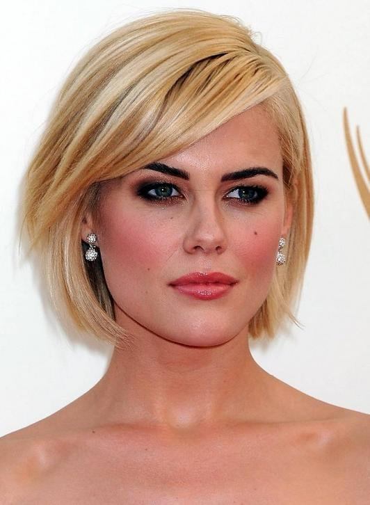 20 Prettiest Short Bob Hairstyles And Haircuts Within Popular Blonde Bob Hairstyles (View 1 of 15)