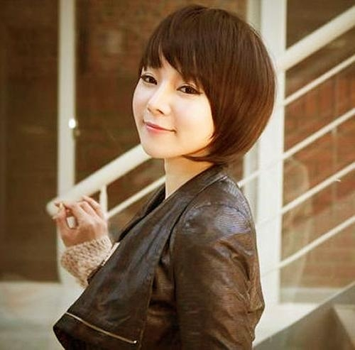 20 Short Bob Hairstyles | Short Hairstyles 2016 – 2017 | Most With Short Bob Hairstyle For Asian Women (View 5 of 15)