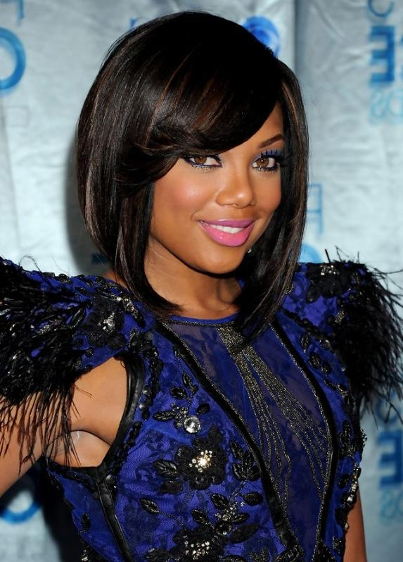 2013 African American Black Bob Hairstyle – Hairstyles Weekly Regarding Long Black Bob Haircuts (View 2 of 15)