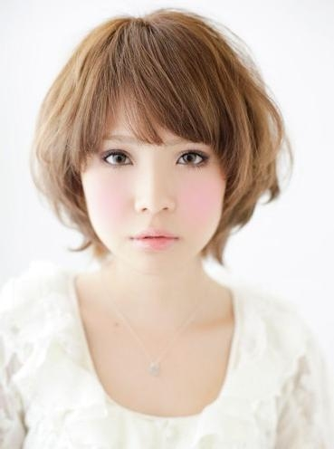 2013 Short Asian Hairstyle For Women – Hairstyles Weekly Inside Cute Korean Short Hairstyles (View 3 of 15)