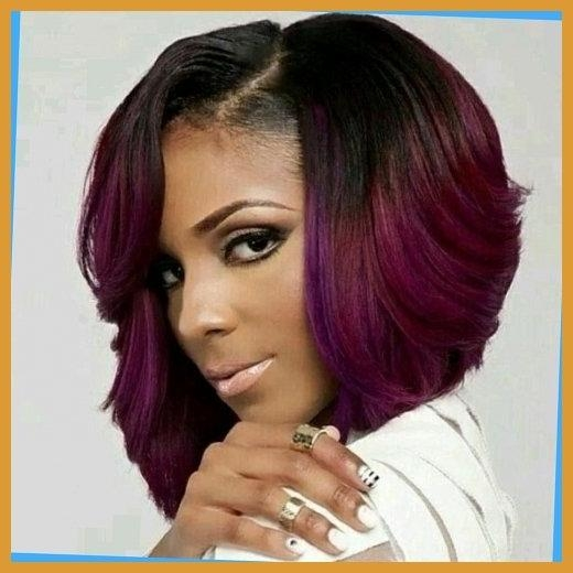 2017 Asymmetrical Bob Hairstyles For Black Women For 15 Chic Short Bob Hairstyles: Black Women Haircut Designs With (View 2 of 15)