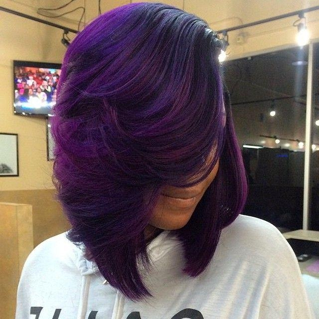 2018 Colored Bob Hairstyles Intended For Instagram Postvoiceofhair (Stylists/styles) (@voiceofhair (View 3 of 15)