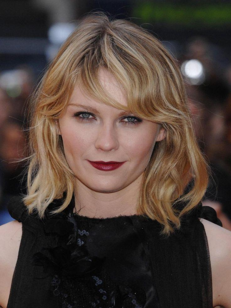 2018 Kirsten Dunst Bob Hairstyles Regarding 41 Best Shaggy Bob Haircut Images On Pinterest (View 7 of 15)