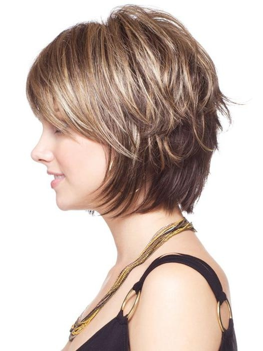 Photo Gallery Of Layered Bob Hairstyles For Short Hair