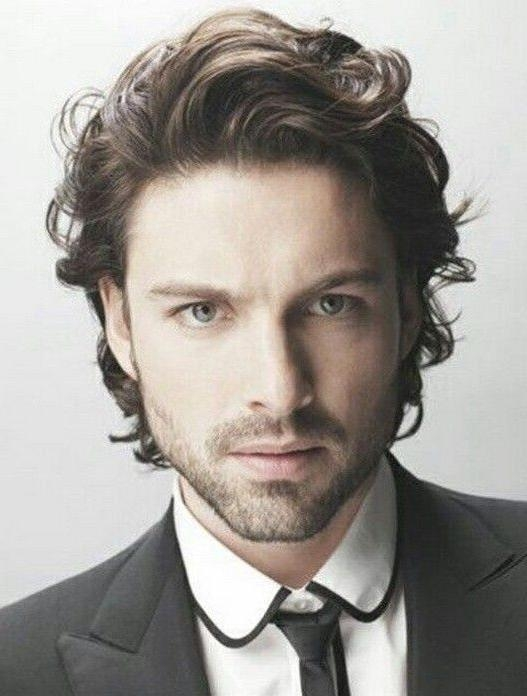 21 Best Latest Curly Hairstyles For Men Images On Pinterest | For Within Long Curly Haircuts For Men (View 14 of 15)