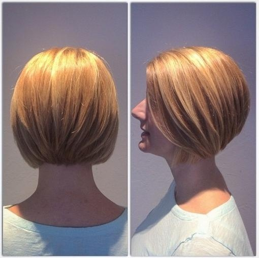 23 Stylish Bob Hairstyles 2017:easy Short Haircut Designs For Women Within 2018 Classic Inverted Bob Hairstyles (View 4 of 15)