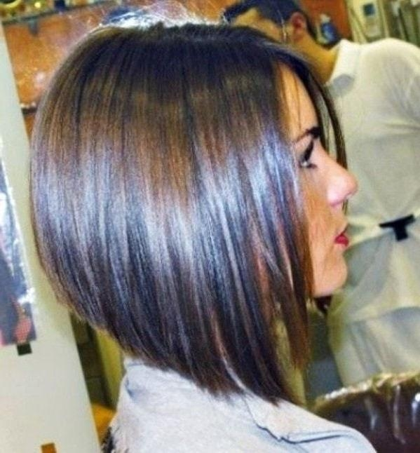25 Best Long Angled Bob Hairstyles We Love – Hairstylecamp For Most Up To Date Medium Length Angled Bob Hairstyles (View 2 of 15)