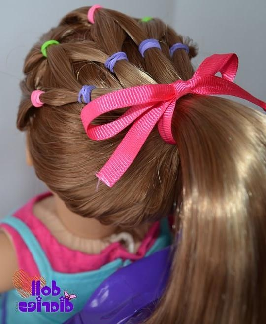 25 Cute & Beautiful American Girl Doll Hairstyles Regarding Cute Hairstyles For American Girl Dolls With Long Hair (View 1 of 15)