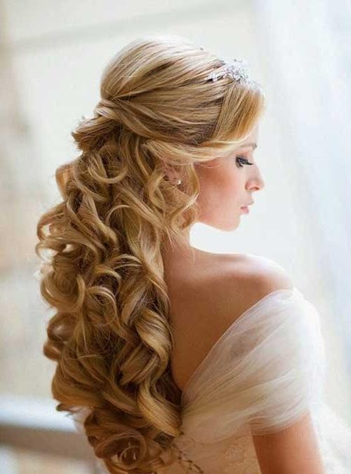 25 New Hair Styles For Curly Hair | Long Hairstyles 2016 – 2017 With Long Curly Hairstyles For Wedding (View 11 of 15)