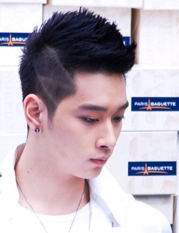 Featured Photo of Short Asian Hairstyles Men
