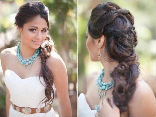 26 Best Bridal Hair Images On Pinterest | Wedding Ideas Regarding Asian Wedding Hairstyles For Long Hair (View 1 of 15)
