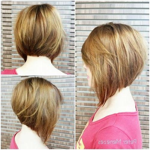 26 Lovely Bob Hairstyles: Short, Medium And Long Bob Haircut Ideas Intended For 2017 Inverted Bob Hairstyles For Round Faces (View 3 of 15)