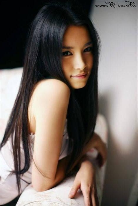 28 Best Hair Images On Pinterest | Hairstyles, Make Up And Braids For Beautiful Asian Hairstyles For Women (View 4 of 15)