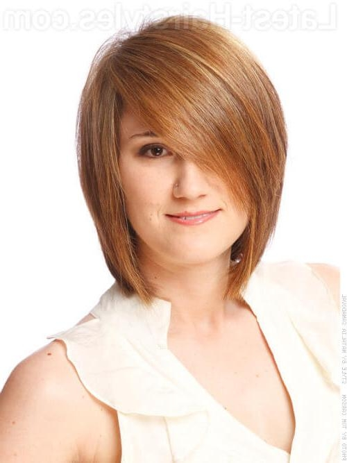 30 Completely Fashionable Bob Hairstyles With Bangs Pertaining To Preferred Sleek And Simple Bob Hairstyles (View 5 of 15)
