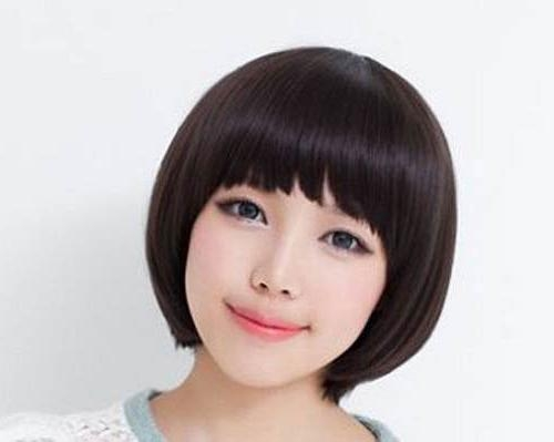 30 Pretty Korean Short Hairstyles For Girls – Cool & Trendy Short In Korean Short Hairstyles For Beautiful Girls (View 14 of 15)
