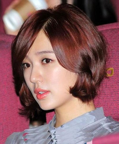 30 Pretty Korean Short Hairstyles For Girls – Cool & Trendy Short Throughout Cute Korean Short Hairstyles (View 4 of 15)
