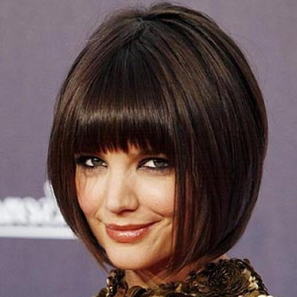 30 Stylish Inverted Bob Haircut – Slodive Throughout Preferred Inverted Bob Hairstyles With Bangs (View 5 of 15)