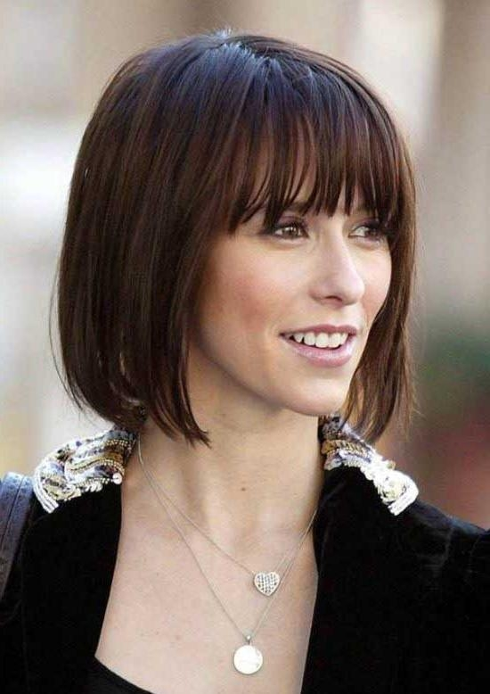 35 Awesome Bob Haircuts With Bangs – Makes You Truly Stylish In Popular Inverted Bob Hairstyles With Blunt Bangs (View 3 of 15)