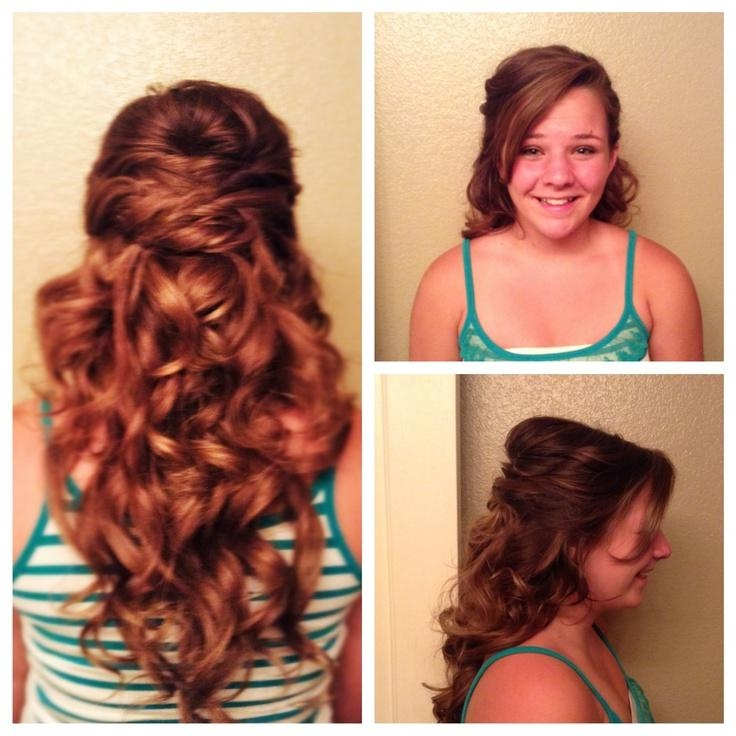 35 Best Special Occasion Hairstyles Images On Pinterest | Special Inside 8Th Grade Graduation Hairstyles For Long Hair (View 5 of 15)