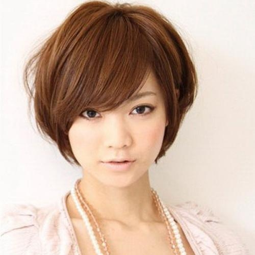 35 Cute Short Asian Hairstyles – Cool & Trendy Short Hairstyles 2017 Intended For Short Asian Hairstyles For Women (View 15 of 15)