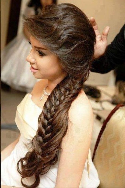 37 Best Asian Bridal Images On Pinterest | Makeup, Accessories And With Asian Wedding Hairstyles For Long Hair (View 2 of 15)