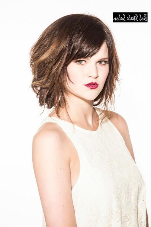 40 Awesome Wavy Bob Hairstyles You've Never Tried Before Inside Favorite Wavy Bob Hairstyles With Bangs (View 2 of 15)
