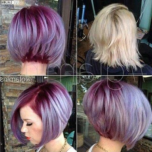 Featured Photo of Short Colored Bob Hairstyles