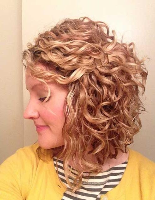 40 Best Short Curly Hairstyles For Women (View 2 of 15)