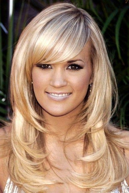 43 Best Layered Hairstyles Images On Pinterest Throughout Hairstyles For Thin Faces With Long Hair (View 3 of 15)