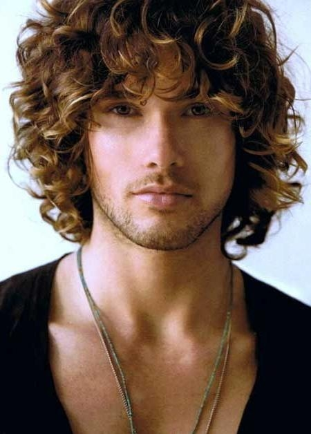 46 Best Men's Haircut Curly Images On Pinterest | Hairstyles, Long Within Long Curly Haircuts For Men (View 2 of 15)