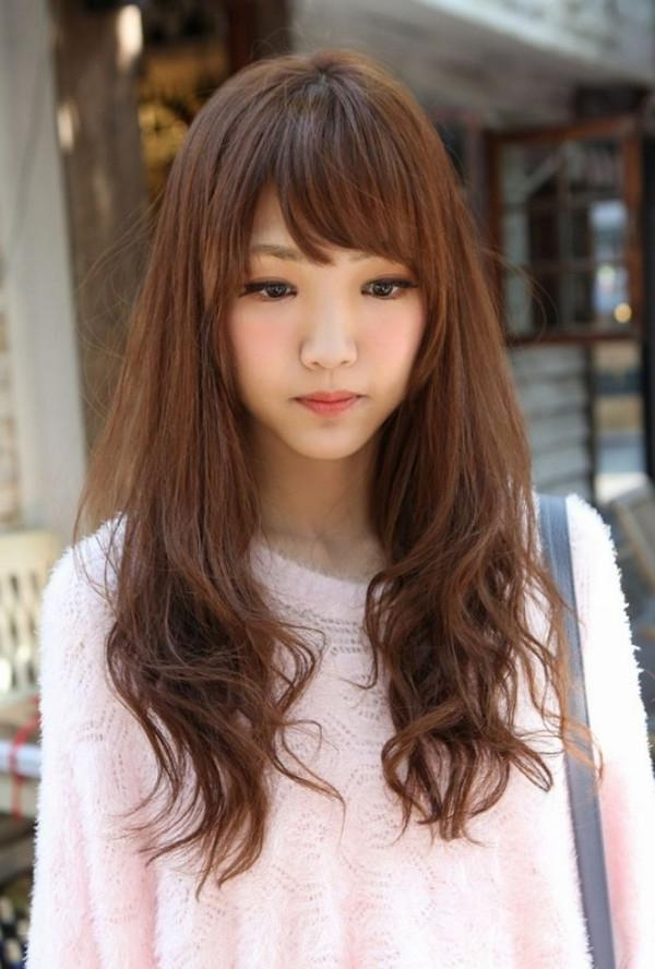 47 Super Cute Hairstyles For Girls With Pictures – Beautified Designs Regarding Korean Women Hairstyles For Long Hair (View 4 of 15)