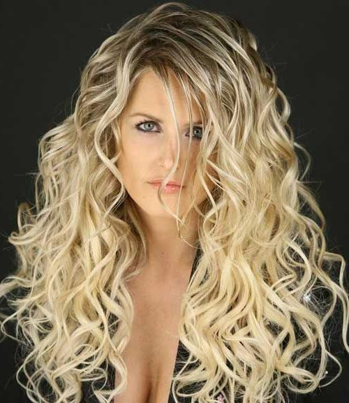 50 Amazing Permed Hairstyles For Women Who Love Curls In Long Permed Hairstyles With Bangs (View 2 of 15)