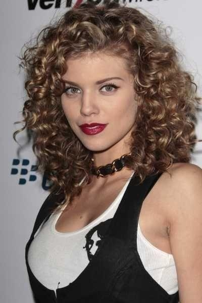 50 Amazing Permed Hairstyles For Women Who Love Curls Intended For Long Permed Hairstyles With Bangs (View 9 of 15)