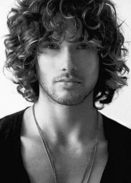 50 Long Curly Hairstyles For Men – Manly Tangled Up Cuts Pertaining To Mens Long Curly Haircuts (Gallery 1 of 15)