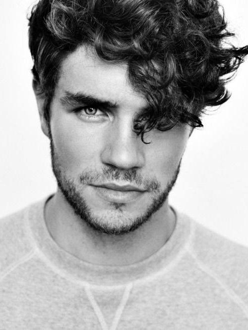 50 Long Curly Hairstyles For Men – Manly Tangled Up Cuts With Mens Long Curly Haircuts (View 5 of 15)