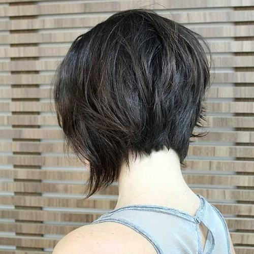 50 Trendy Inverted Bob Haircuts With Regard To Popular Asymmetrical Bob Hairstyles Back View (View 1 of 15)