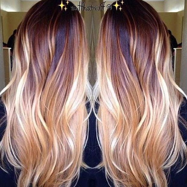 52 Best Hair Images On Pinterest | Hairstyles, Hair And Hair Color Regarding Long Hairstyles And Colors (View 5 of 15)