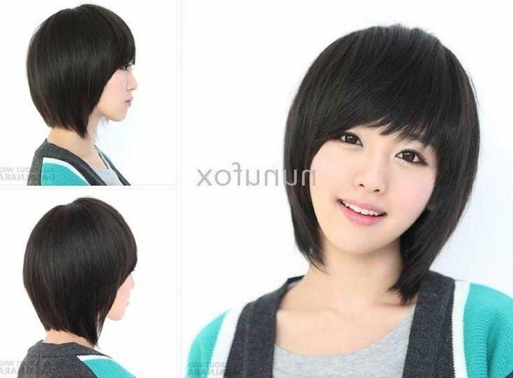 599 Best Korean Hair Style Images On Pinterest | Korean Hair, Hair Regarding Korean Women Hairstyles Short (View 7 of 15)