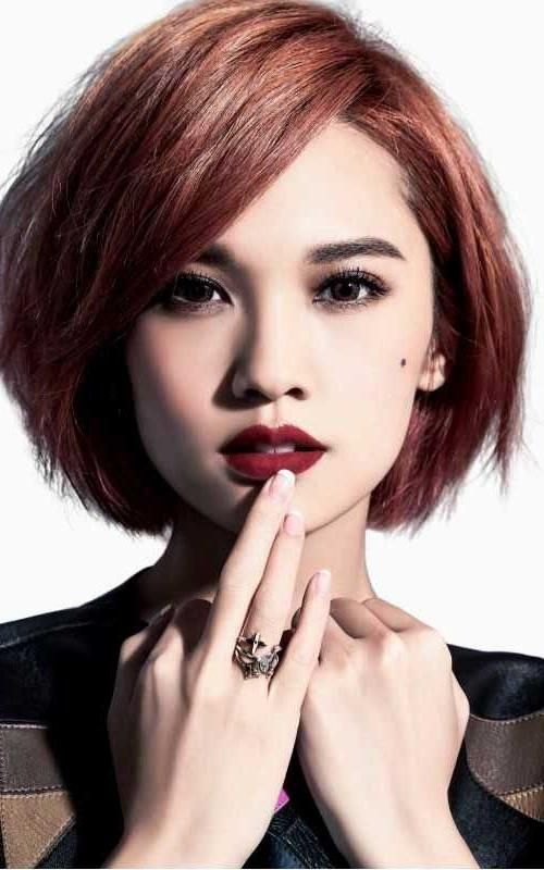 70 Best Hairstyle Images On Pinterest | Korean Hairstyles, Hair Throughout Korean Long Haircuts For Women With Red Hair (View 6 of 15)