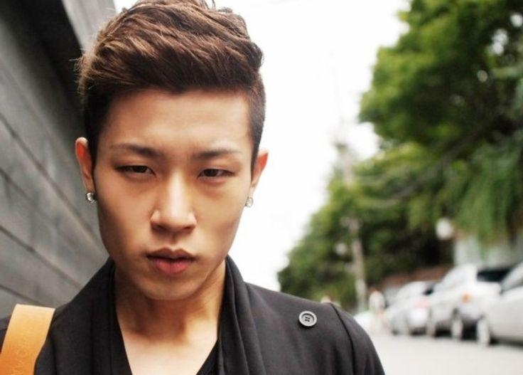15 ideas of short korean hairstyles for guys