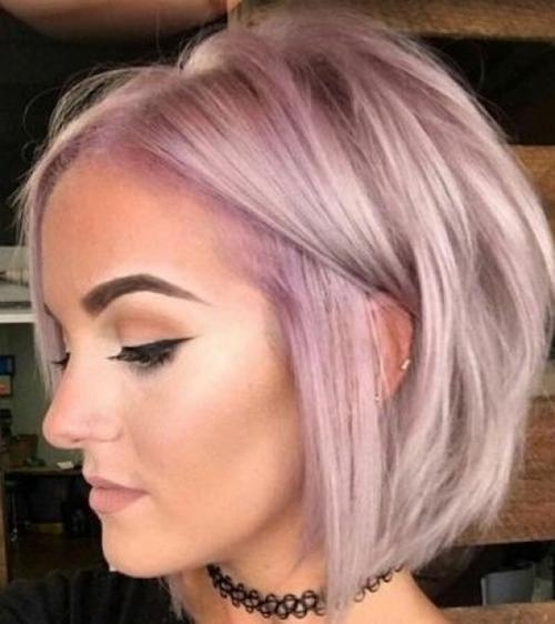 15 Ideas of Inverted Bob Hairstyles For Fine Hair