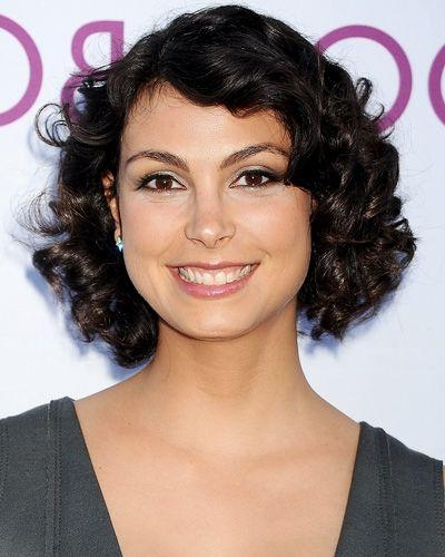 Actress Morena Baccarin Has Revealed How She Is Very Optimistic Regarding 2018 Morena Baccarin Bob Hairstyles (View 2 of 15)