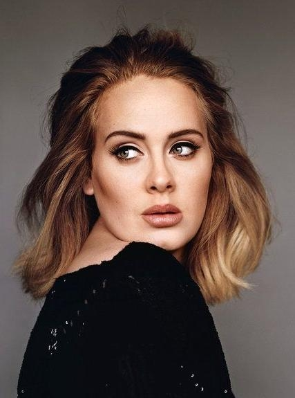 Adele Bob, Adele Hair In Fashionable Adele Shoulder Length Bob Hairstyles (View 4 of 15)