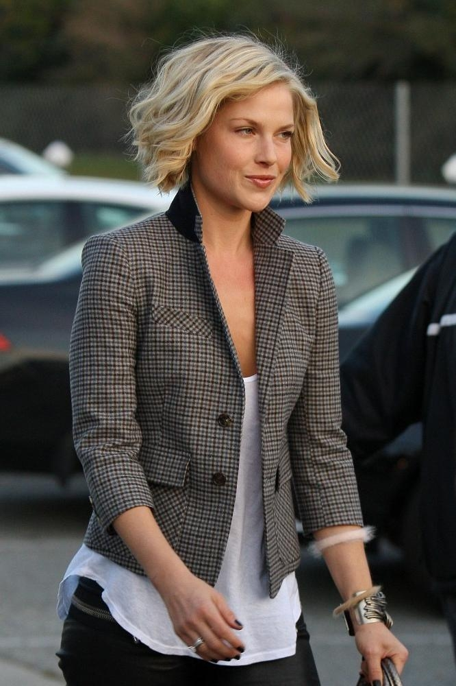 Ali Larter In Ali Larter Leaves The Byron And Tracey Salon – Zimbio Pertaining To Well Liked Ali Larter Bob Hairstyles (View 1 of 15)