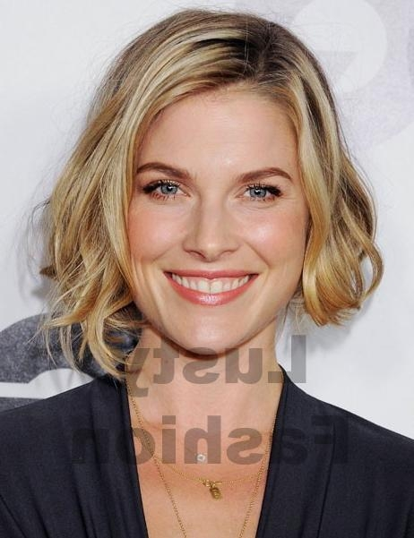 Ali Larter Short Choppy Bob Hairstyle – Lustyfashion In Most Recent Ali Larter Bob Hairstyles (View 3 of 15)