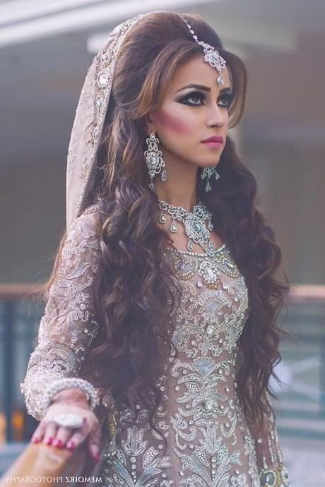 Asian Bridal Hairstyles 2017 Inside Asian Wedding Hairstyles For Long Hair (View 3 of 15)