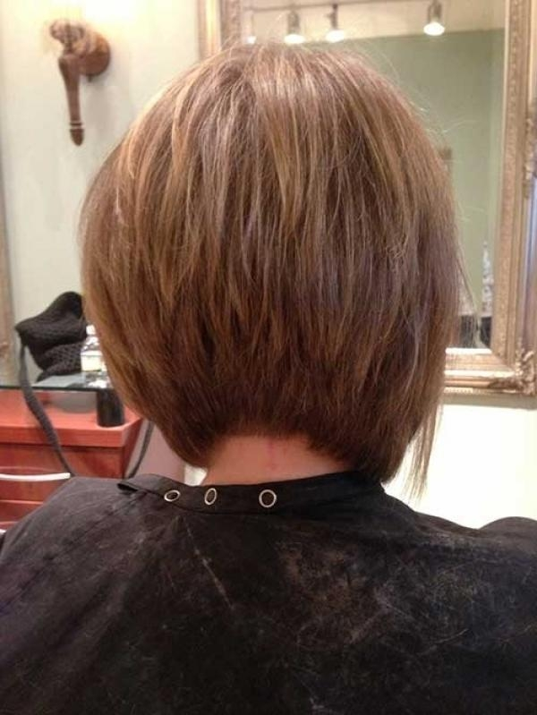 Asymmetrical Bob Haircut Back View For Your Hair Is Convenient To Regarding 2018 Asymmetrical Bob Hairstyles Back View (View 2 of 15)