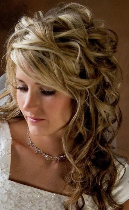 Beautiful Long Wavy Curly Hairstyle For Wedding – Hairstyles Weekly With Regard To Beautiful Long Curly Hairstyles (View 6 of 15)