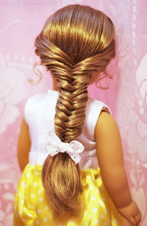 Best 25+ American Girl Hairstyles Ideas On Pinterest | Ag Doll With Cute Hairstyles For American Girl Dolls With Long Hair (View 11 of 15)