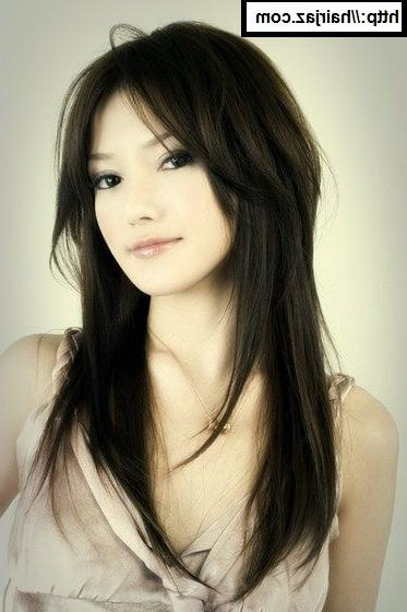 Best 25+ Asian Hairstyles Ideas On Pinterest | Asian Hair, Korean With Regard To Long Hairstyles For Korean Women (View 7 of 15)
